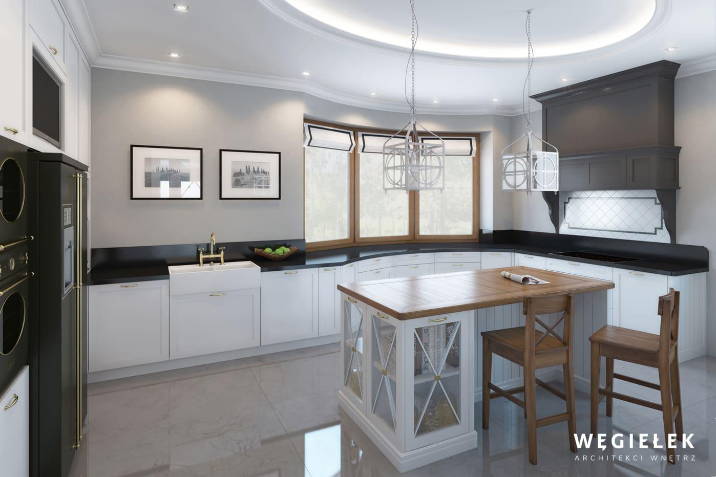 03 dom w wilanowie kuchnia klasyczna
