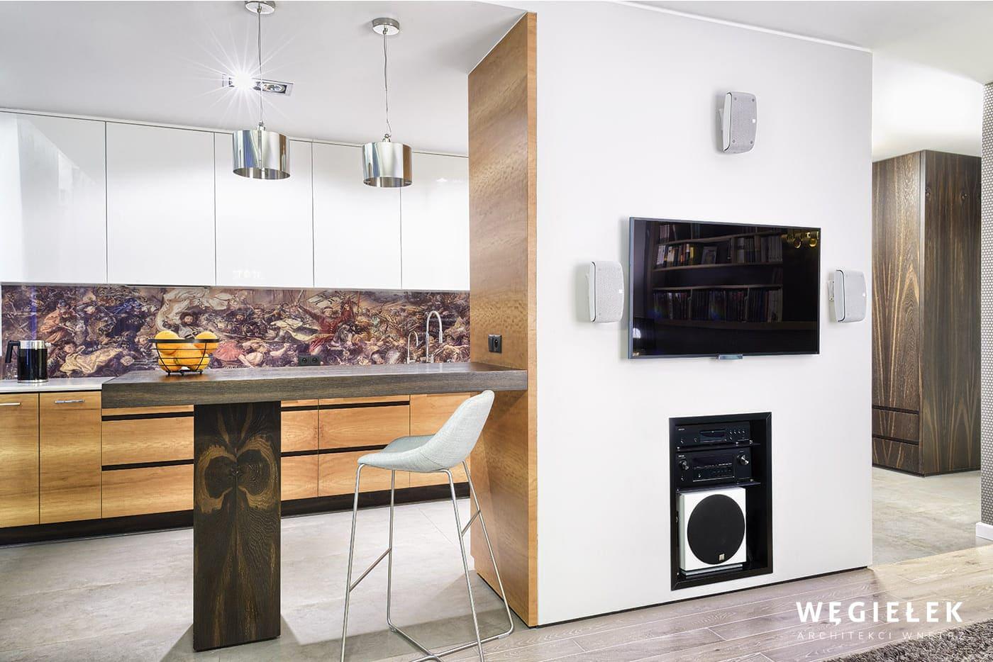 03 salon kuchnia barek drewniany