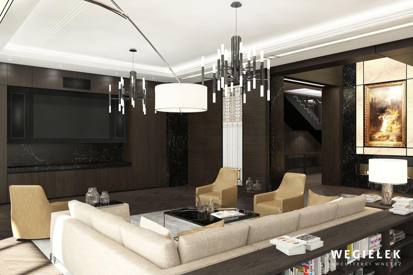 04 apartament salon modernistyczny