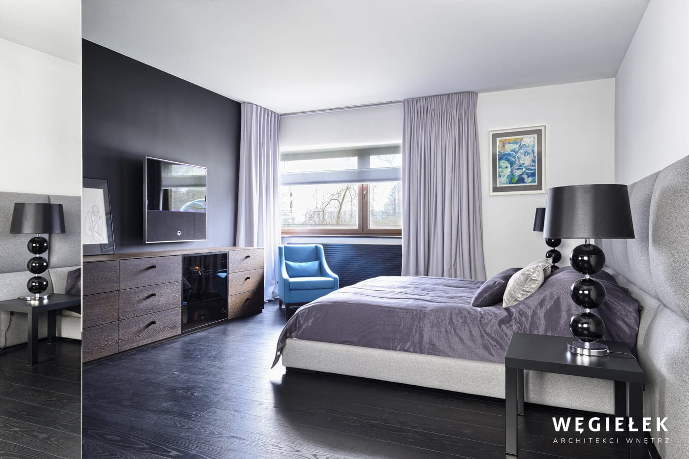 06 sypialnia komoda dab wedzony