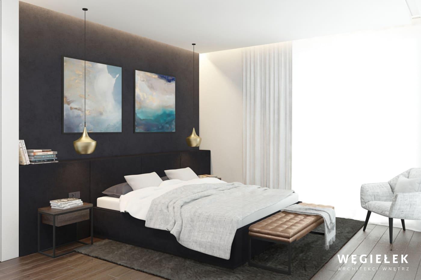 08 sypialnia z tapicerowanym zaglowkiem