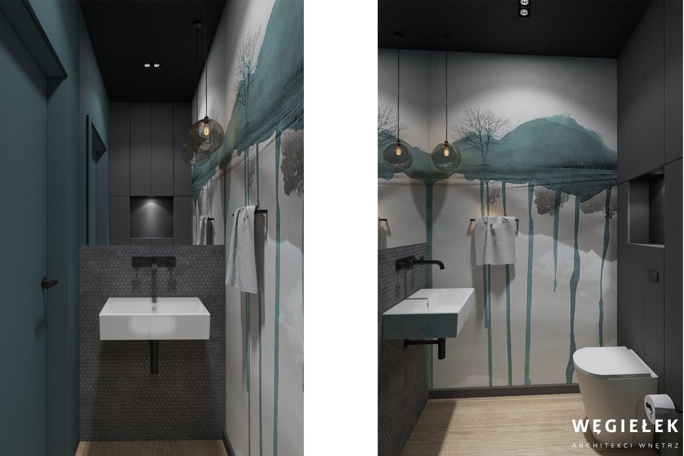 13 NOVA KRÓLIKARNIA WC TAPETA WALL AND DECO