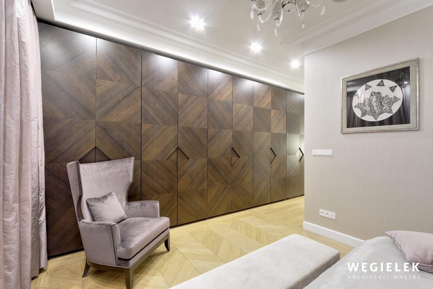 19 apartament morskie oko sypialnia master szafa dąb ciemny