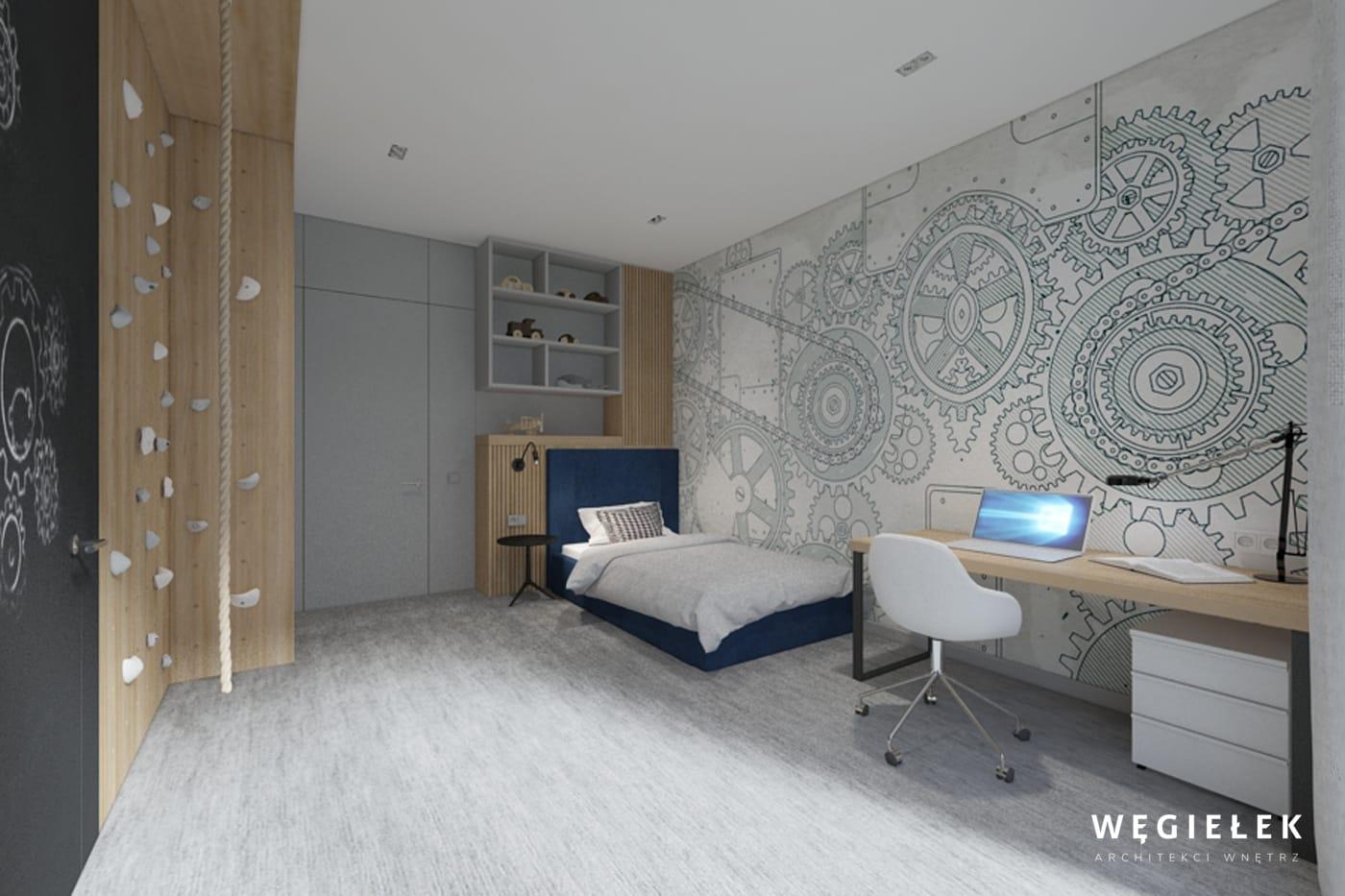 23 pokój chłopca wall and deco